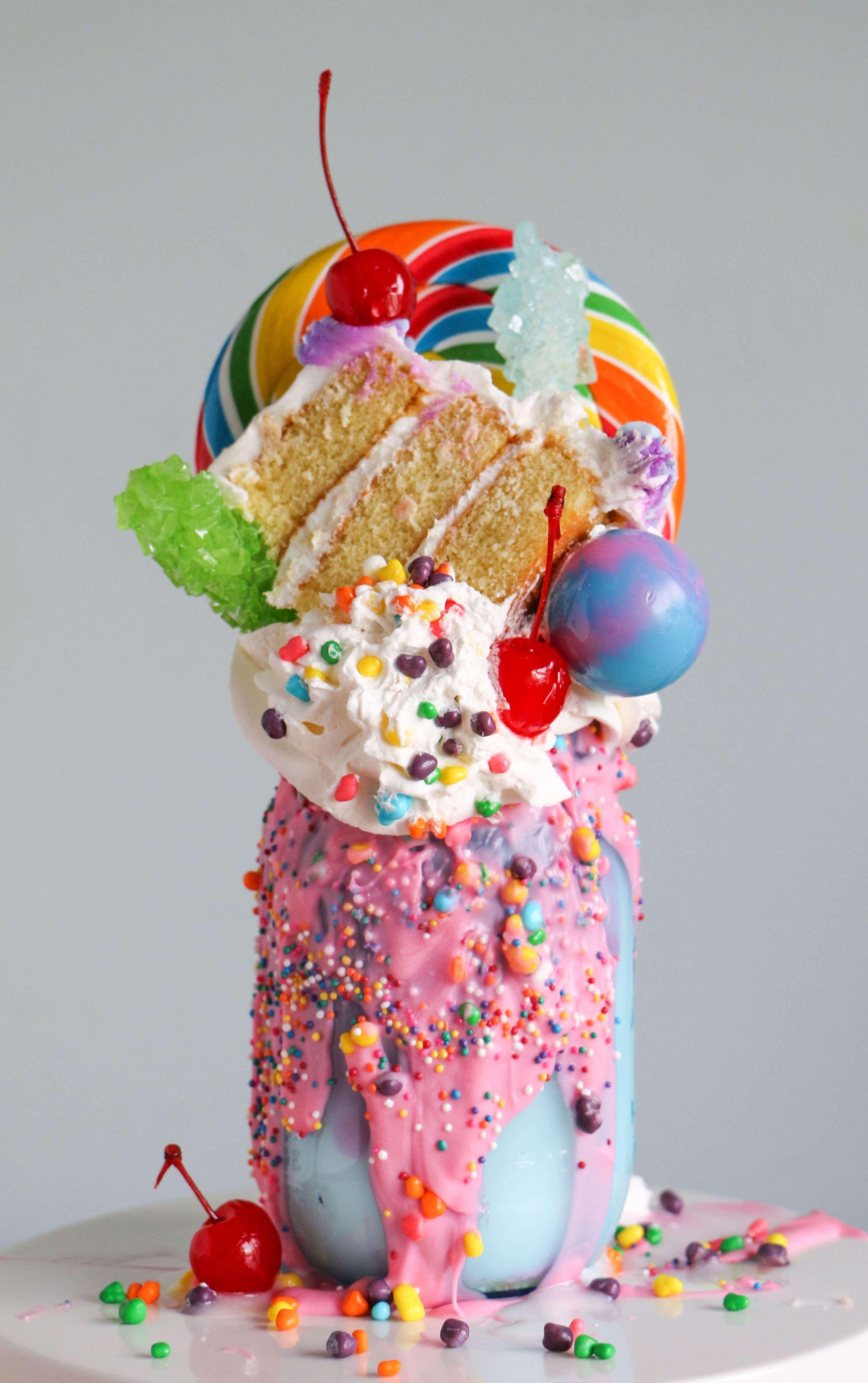 Birthday Cake Milkshake By Erin Bakes Via Craftsy
