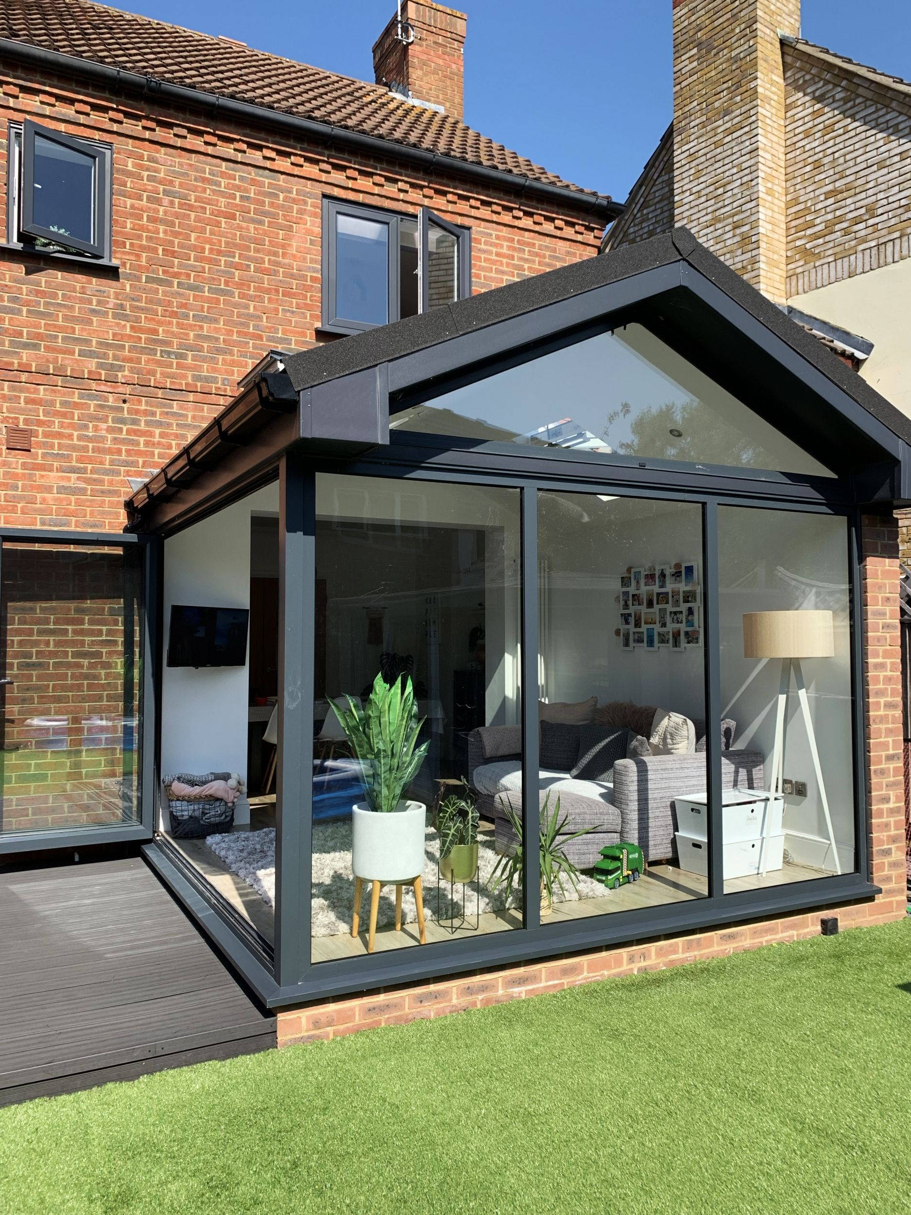 Pin On Home Exterior House Renovation House Extension Plans Small House Extensions Backyard house extension ideas