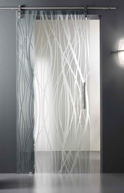 Etched Glass Designs Trendy Acid Etched Glass Doors Design