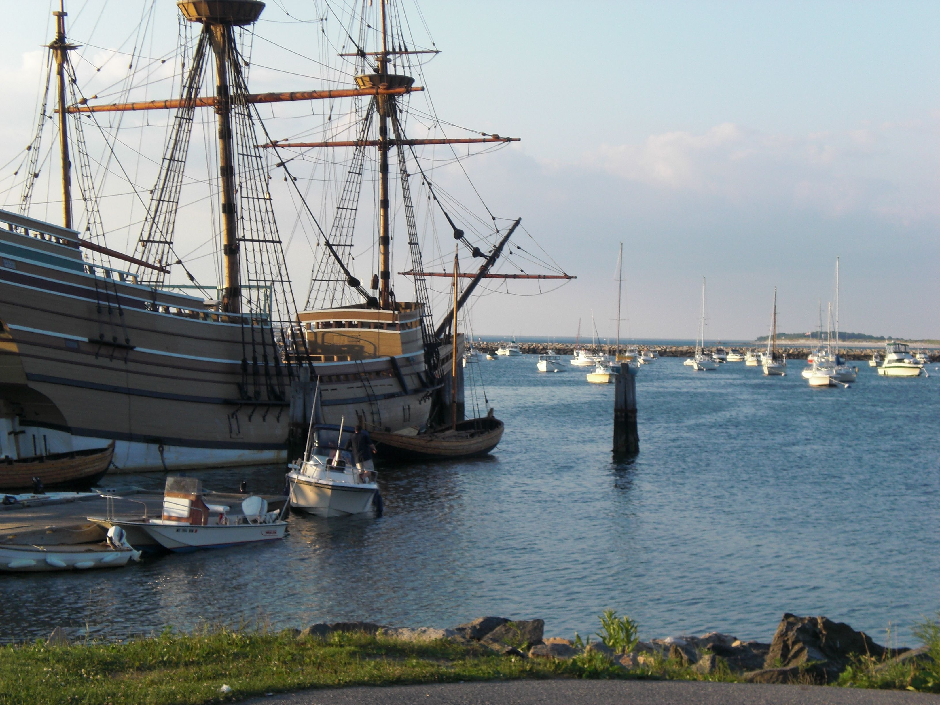 Mayflower replica at Plymouth, MA
