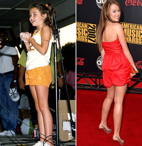 Stars When They Were Kids - Miley Cyrus - PIC