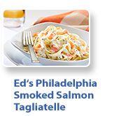 Light Phili and salmon