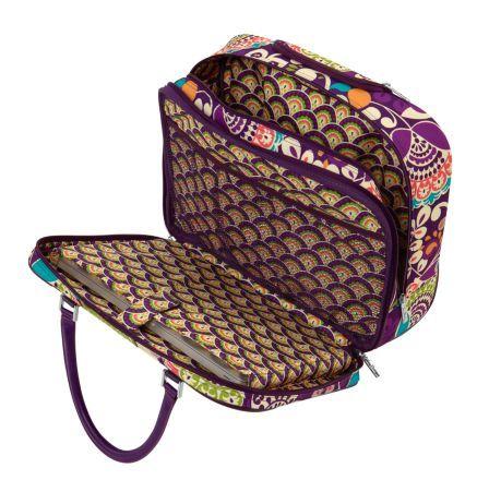 Rolling Work Bag Vera Bradley I Want This