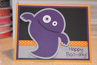 Razor Sharp Crafts: Happy Boo-day!/Mini Monsters
