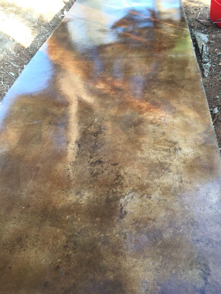 Pavimento de hormigón pulido con ankare malak y tematización con ...