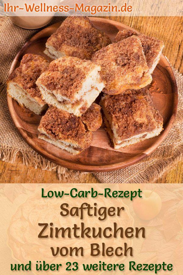 Photo of Saftiger Low-Carb-Zimtkuchen vom Blech – einfaches Rezept ohne Zucker