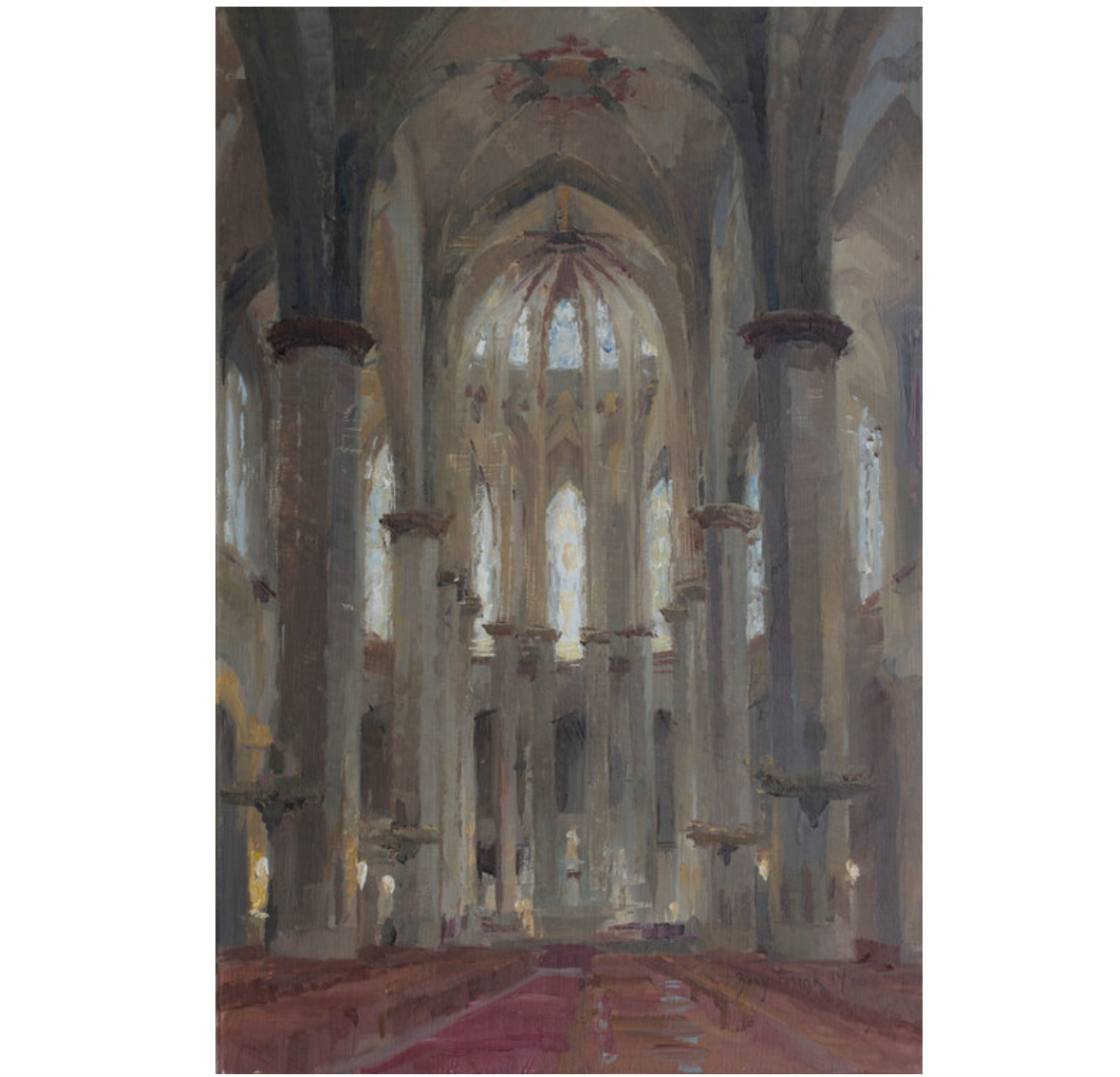 By Zoey Frank: San Marco del Mar, oil on panel, 18x12 in. Available ...