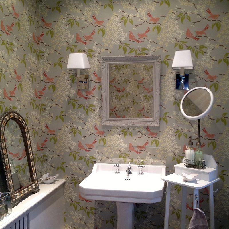 Next stop Pinterest Round mirror bathroom