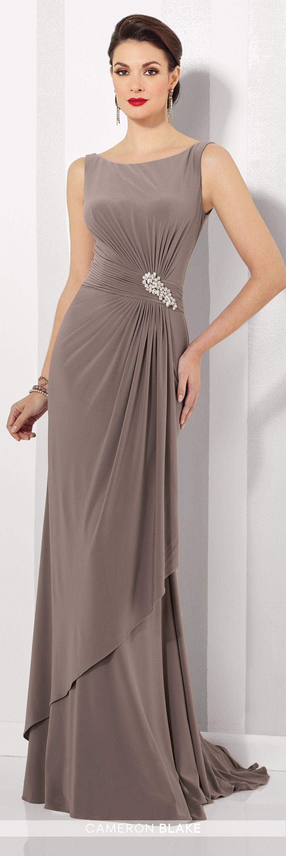a67b133bcfdc Cameron Blake 216690 Mother of the Bride Sleeveless Sheath Dress. Módne  ŠtýlySvadobné ŠatyNevestyVečerné ...