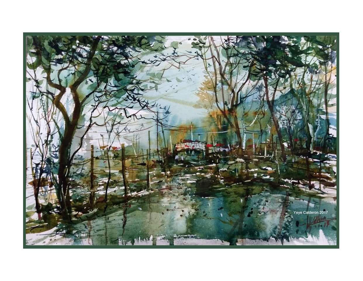 Wilfredo Calderon Philippines Watercolor Painting Techniques