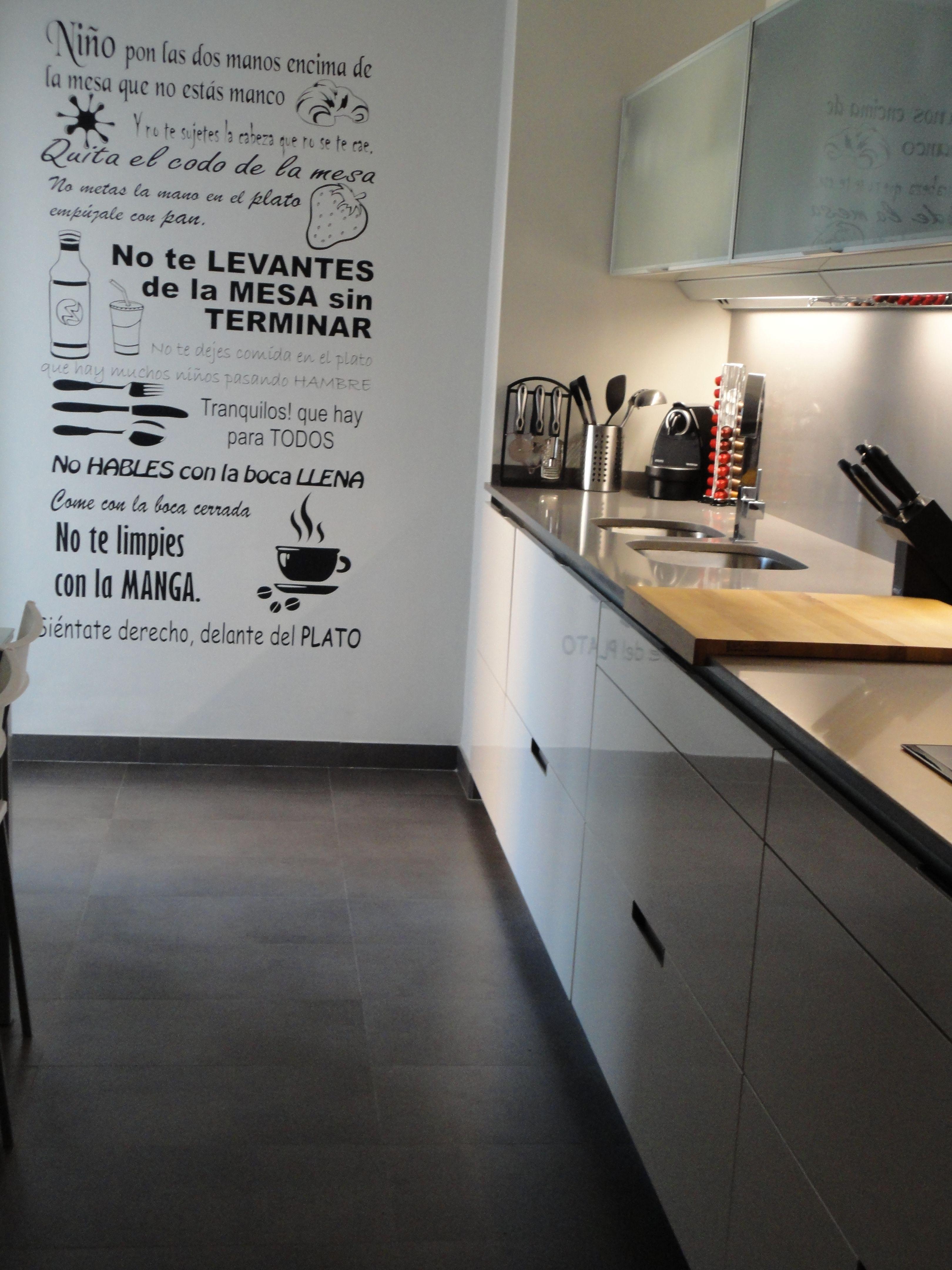 RENOVA INTERORS. reforma cocina R&P. mobiliario Minos-L blanco ...