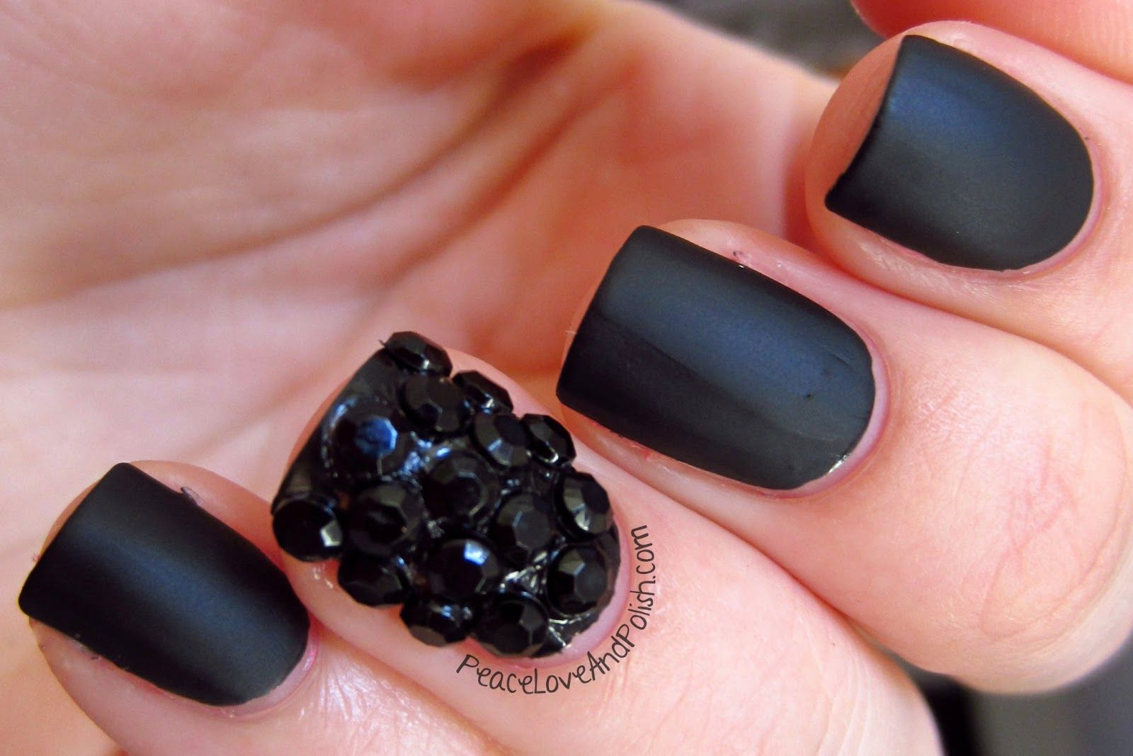 Awesome Opi Black Nail Designs Collection - Nail Art Ideas ...