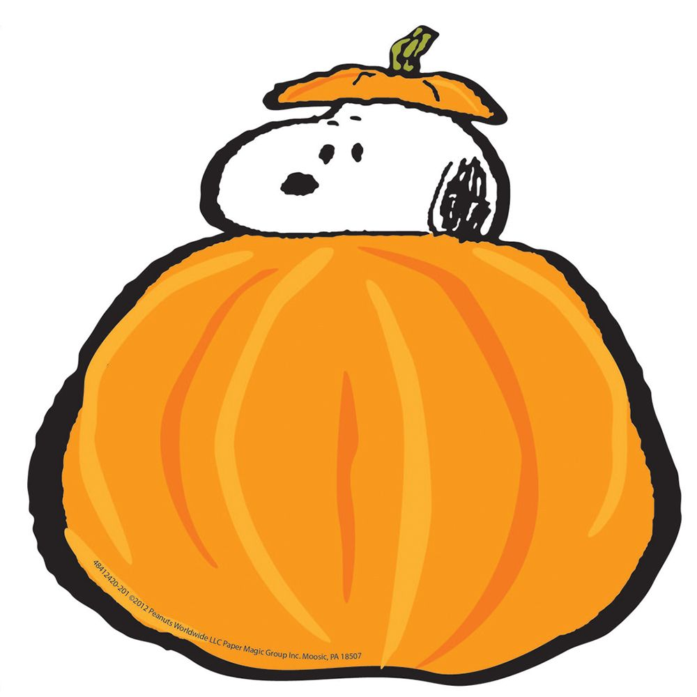 Peanuts: Fall Pumpkins Paper Cut-Outs (EU841242) #school ...