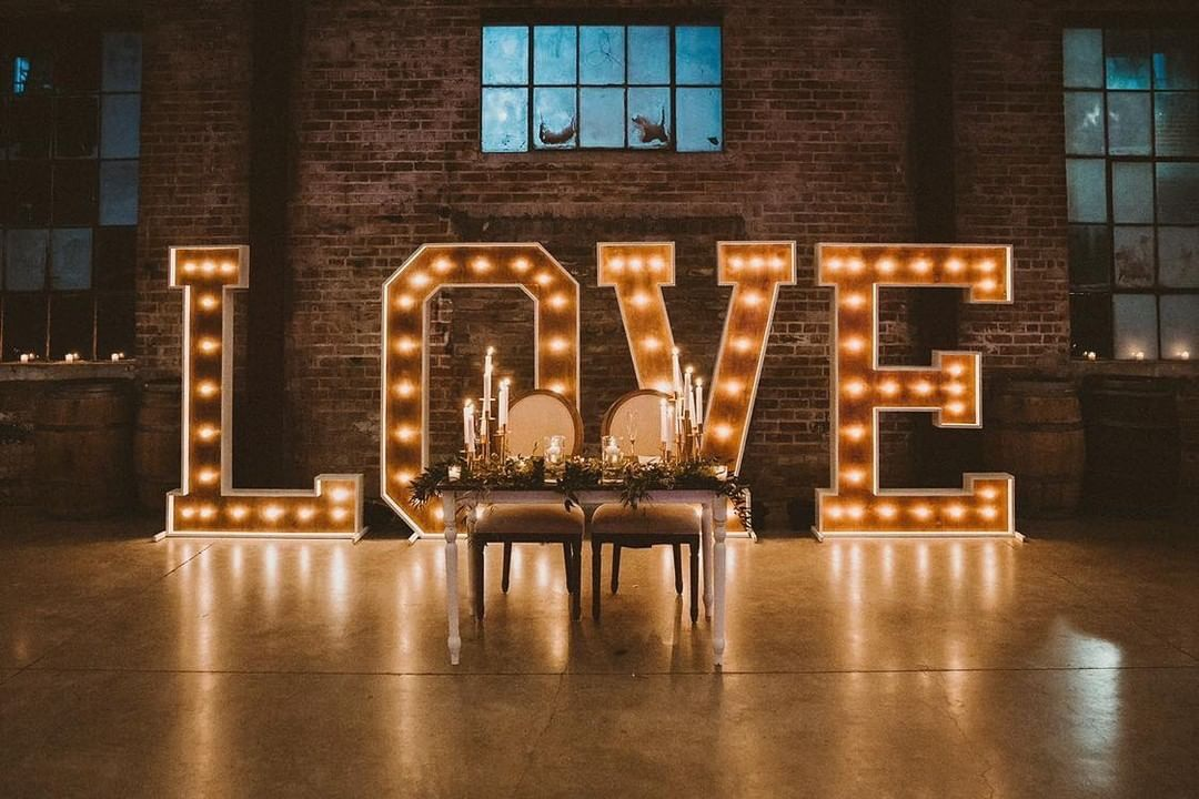 Signage Marquee Letters Wedding Light Up Letters Marquee Sign Wedding