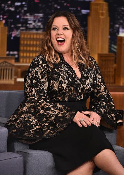 "Melissa McCarthy Visits ""The Tonight Show Starring Jimmy Fallon"" at Rockefeller Center on July 12, 2016 in New York City."