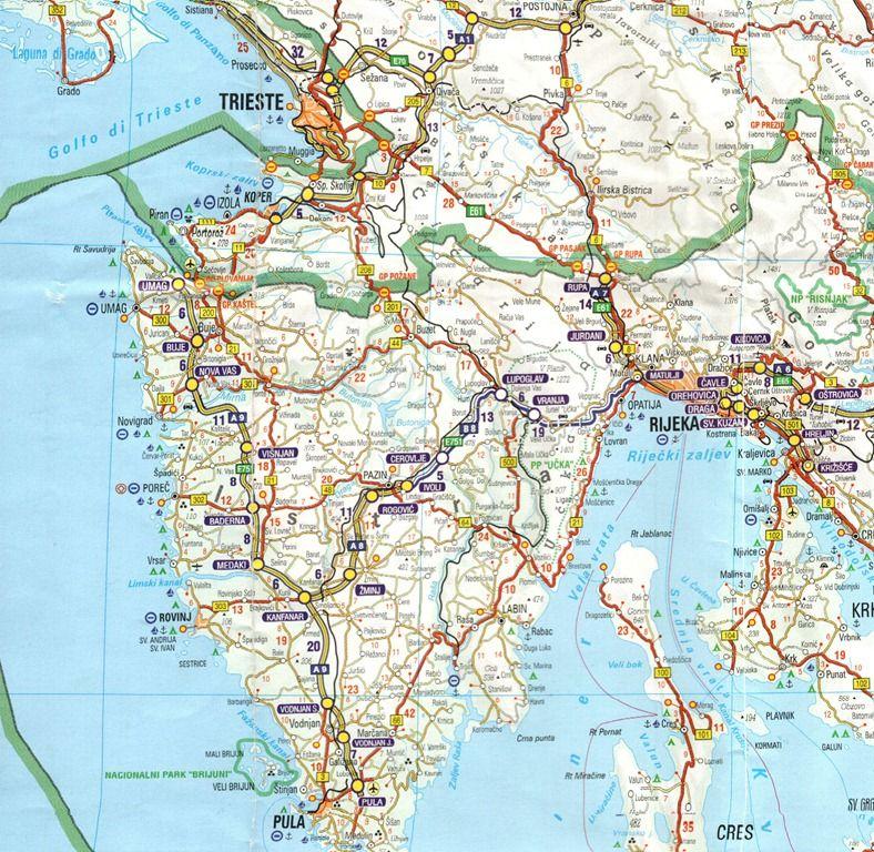 Istria Croatia Italy Slovenia Croatia travel Pinterest