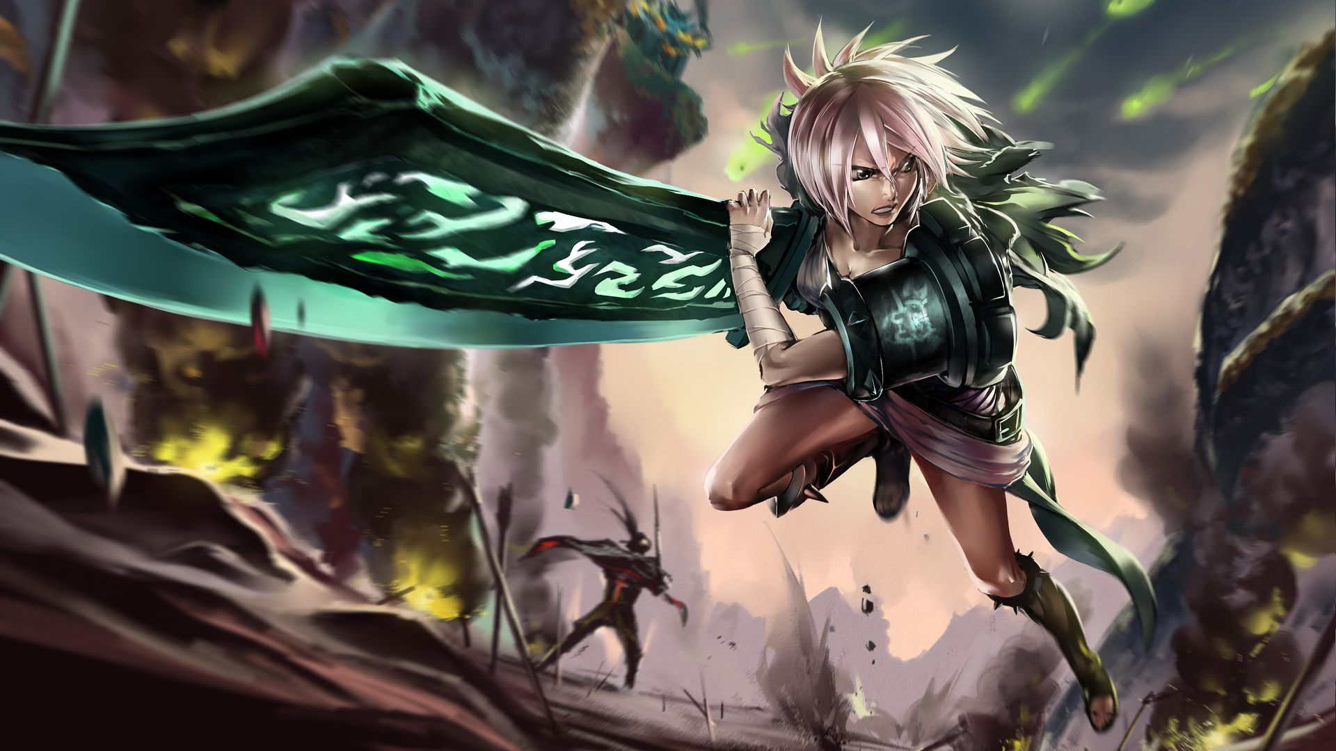 Full Size And Download Wallpapers Hd Downloads League Of Legends Art League Of Legends Video