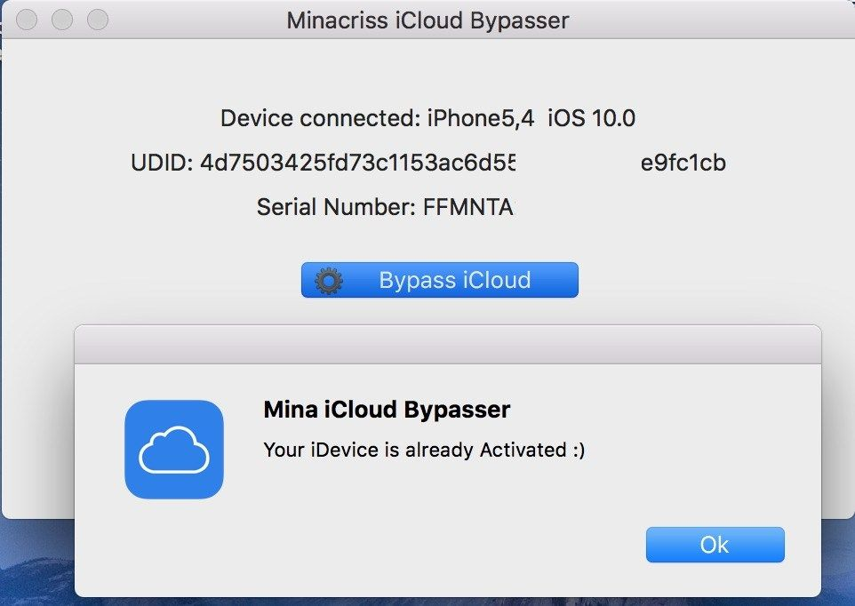 iCloud Bypass iOS 10.0 to 10.2.1 all devices supported