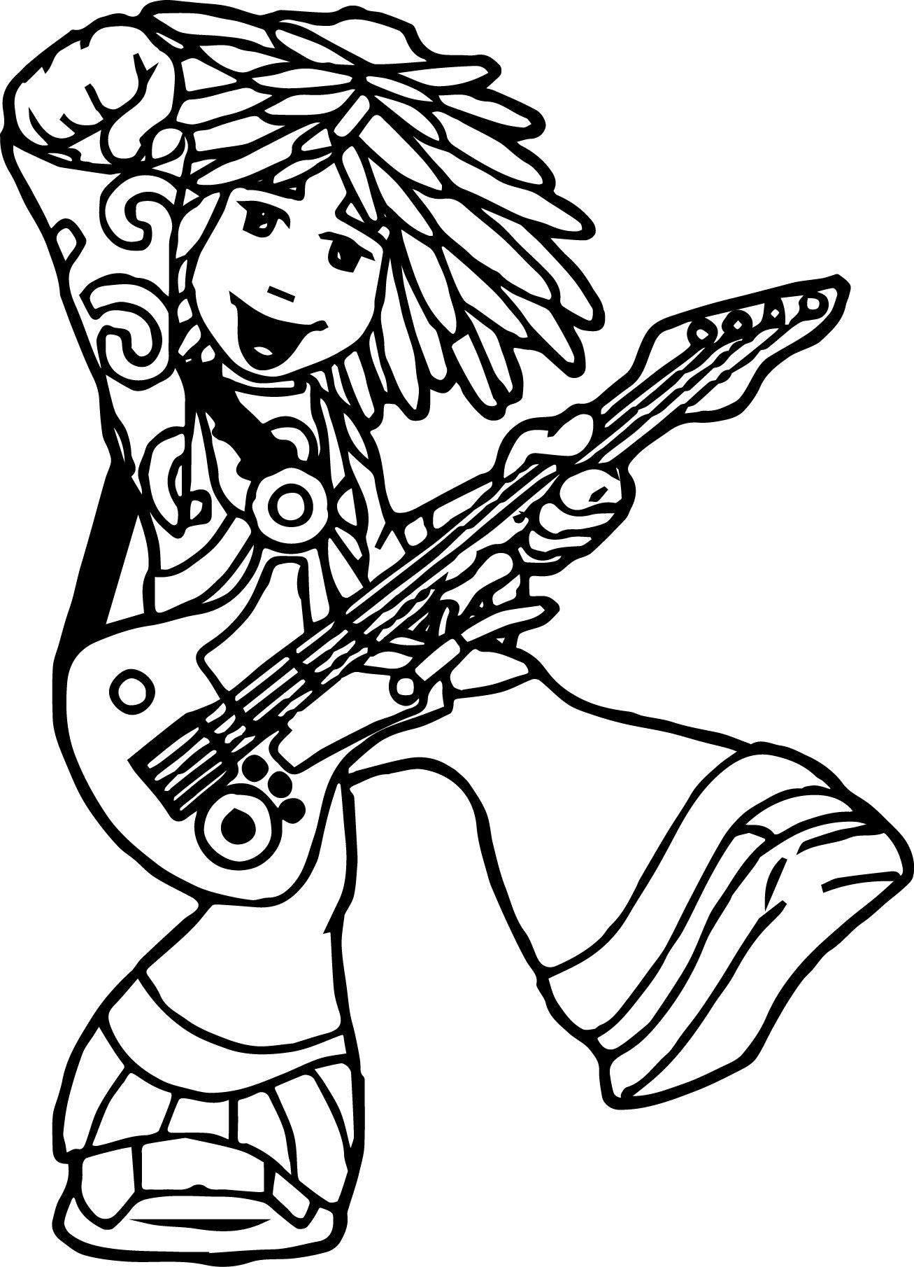 The Doodlebops Coloring Pages | wecoloringpage | Pinterest