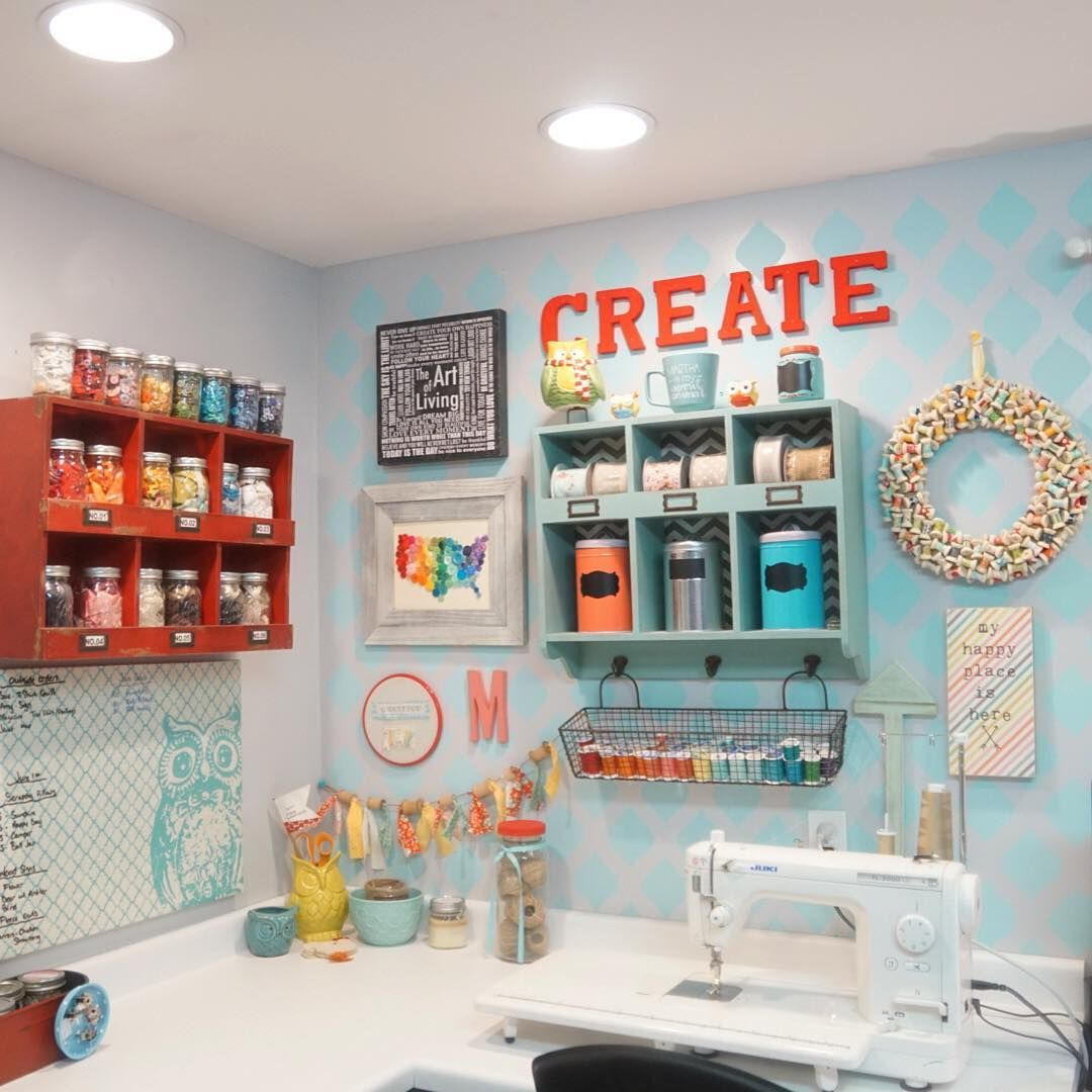 My Crafty Corner The Little Green Bean Small Craft Rooms Diy