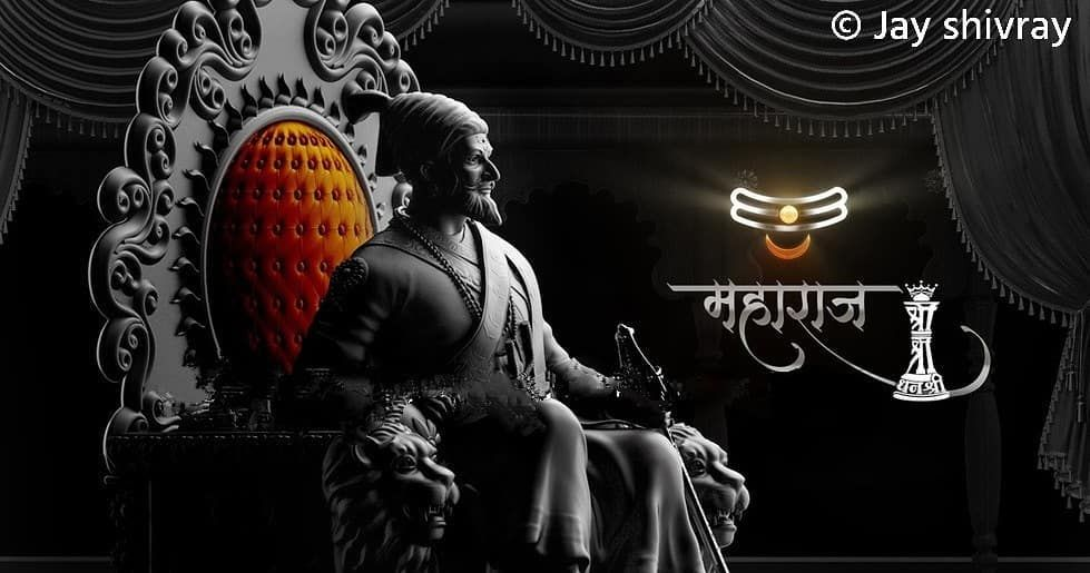 Image May Contain One Or More People And Text Hd Wallpapers For Pc Hd Wallpaper Shivaji Maharaj Hd Wallpaper
