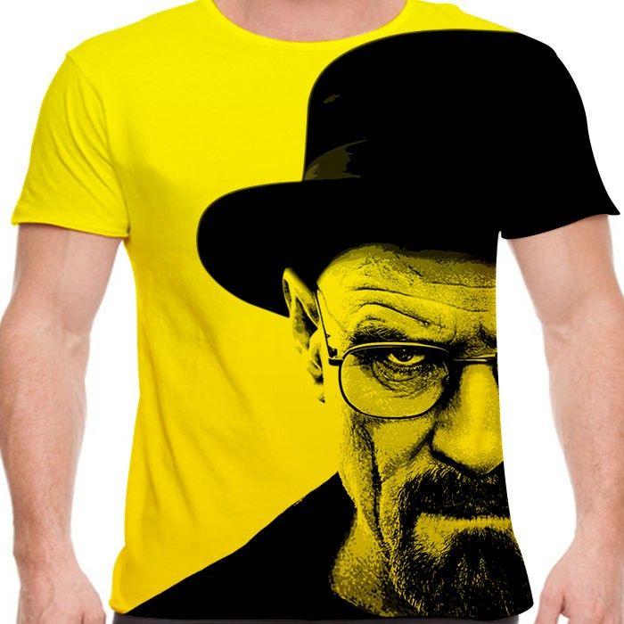 Camiseta Breaking Bad Walter Heisenberg