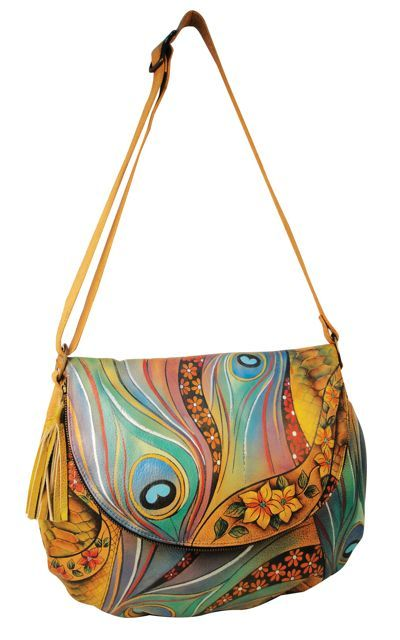 b850bcc89a Anuschka Dancing Peacock Purse I need this purse!!!!