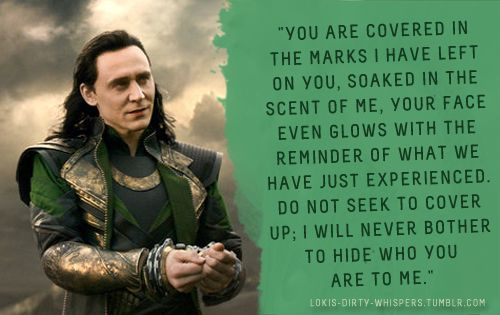 Pin by Chantal Means on Whispers | Loki whispers, Loki imagines, Loki