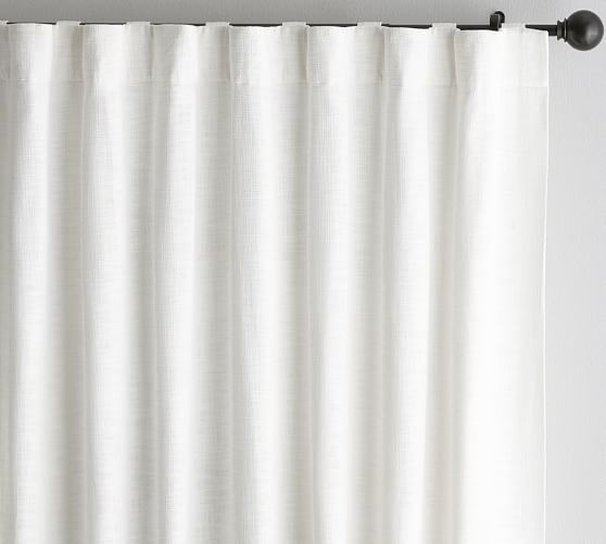 In White Or Charcoal Same Style As Living Room In Different Color In 2020 Linen Blackout Curtains Custom Drapes Curtains