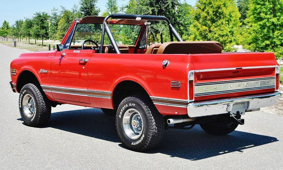 1971 Chevrolet Blazer Rare Convertible