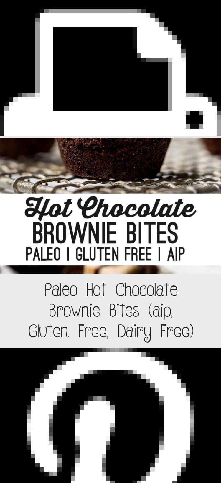 Photo of These paleo hot chocolate brownie bites are the perfect treat for winter! They'r…