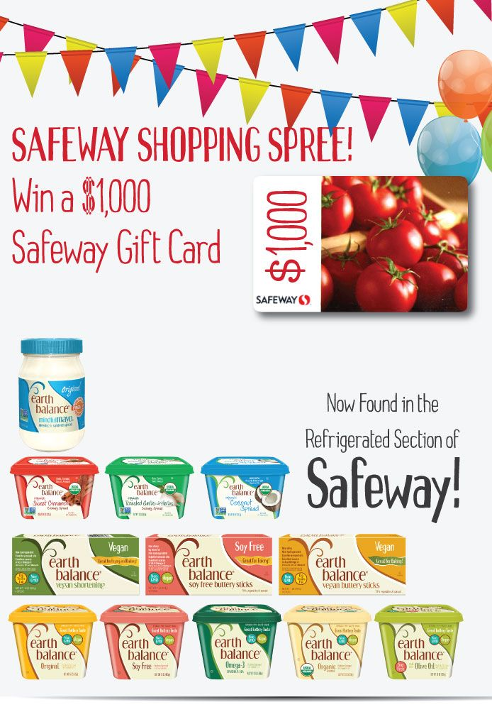 Win a 1,000 Safeway Gift Card! Grocery gift card