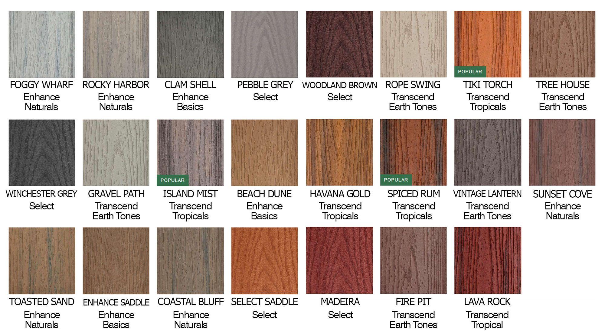 Trex Vs Timbertech Decking Pros Cons Gambrick Trex Deck Colors Trex Vs Timbertech Trex Deck
