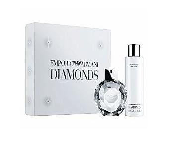 Emporio Armani Diamonds Gift Set By Giorgio Armani Perfume For Women