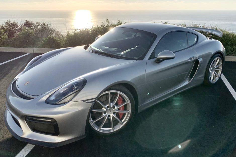 4k Mile 2016 Porsche Cayman Gt4 In 2020 Cayman Gt4 Porsche