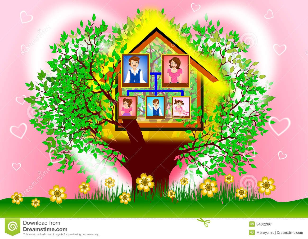 Image result for family tree colorful | removable disk family tree ...