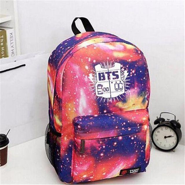 KPOP MERCHANDISE ONLINE STORE - BTS MERCHANDISE - BLACKPINK - EXO | Bts backpack, School bags ...