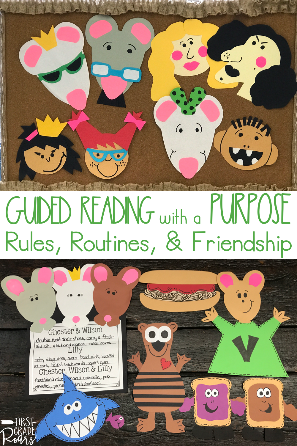 August Guided Reading With A Purpose Guided Reading Lilly S Purple Plastic Purse First Grade Classroom [ 1500 x 1000 Pixel ]