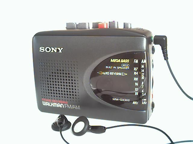 Listening to your music on the walkman -- and sometimes recording messages to your sisters on tapes to listen to later :P