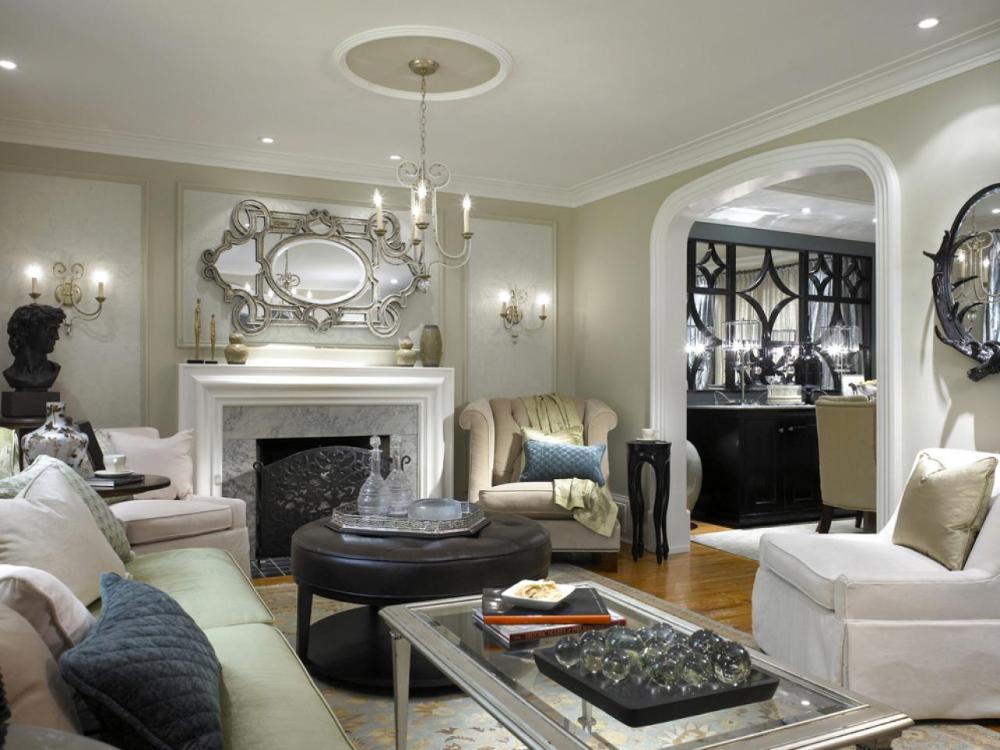 Converting A Walk In Closet Into A Divine Art Studio Living Room Color Beige Living Rooms Beige Living Room Decor