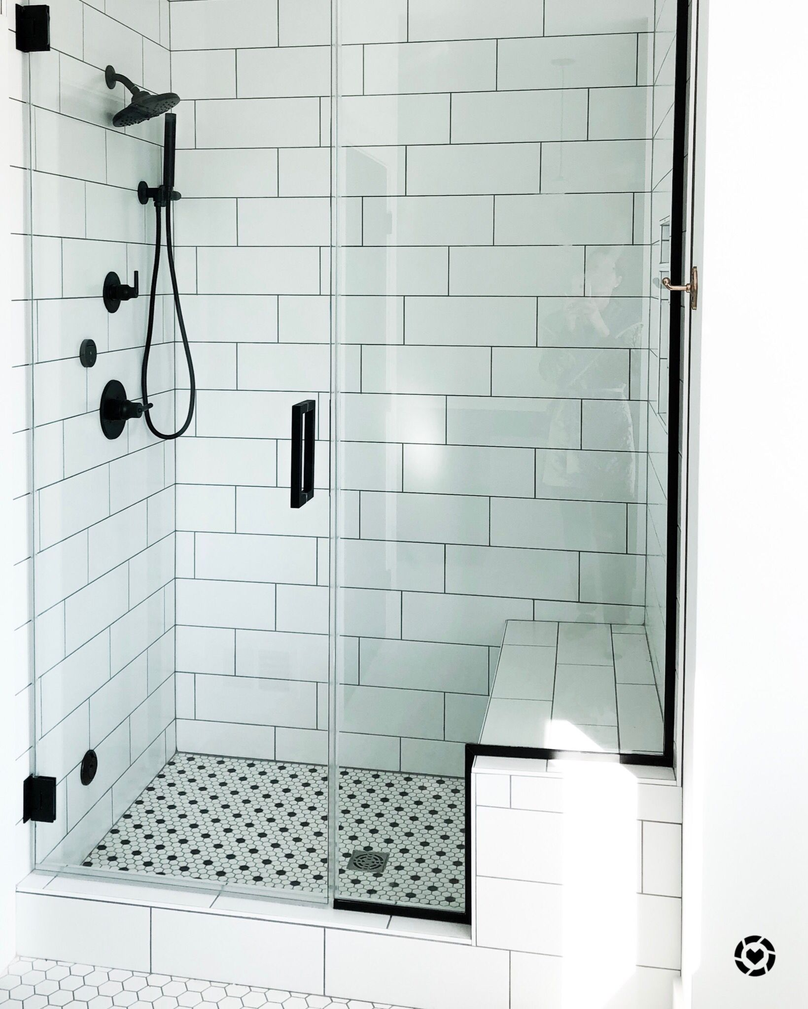 Master Bathroom Shower Lemodfarmhouse Budget Bathroom Remodel