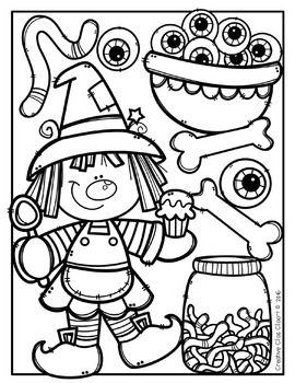 Coloring Pages Halloween Coloring Pages Made By Creative Clips Clipart Halloween Coloring Book Halloween Coloring Halloween Coloring Pages