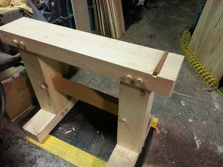 japanese wood furniture plans. use this style for a take down workbench japanese wood furniture plans