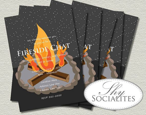 free bonfire invitations  trips fire pits and date ideas, invitation samples