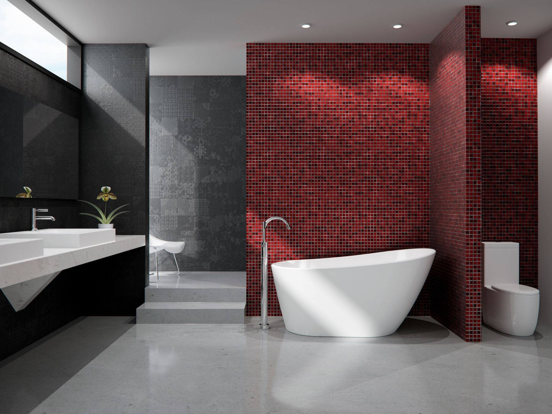 Ventilation Salle De Bain Sans Vmc ~ Chez Neptune Rouge Nous Offrons Des Bains Aux Designs Inspir S Vous
