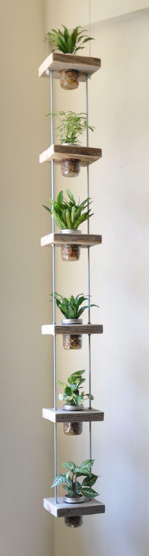 Hanging Mason Jar Planter 10 Adorable