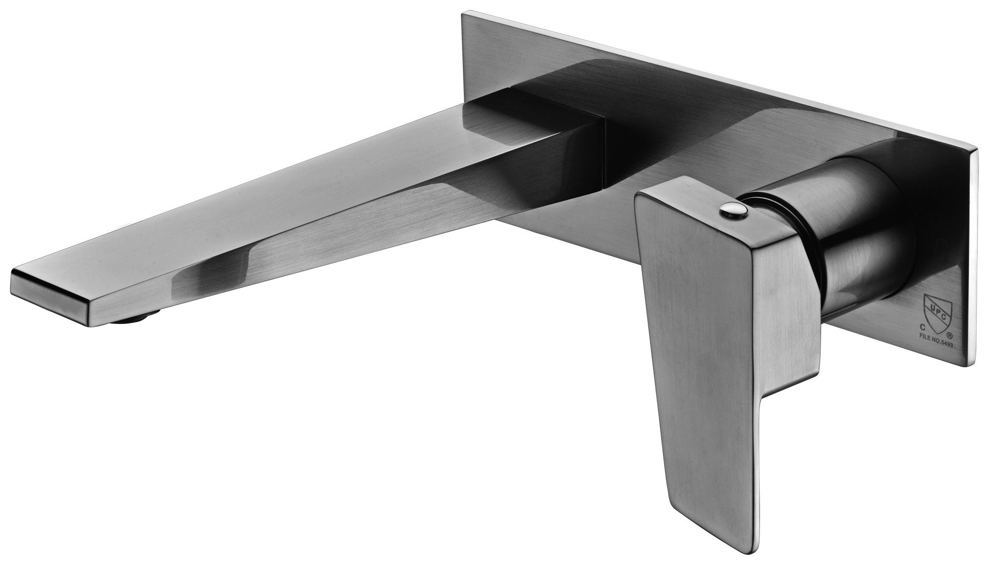 Alfi Brand Ab1472 Bn Brushed Nickel Wall Mounted Bathroom Faucet