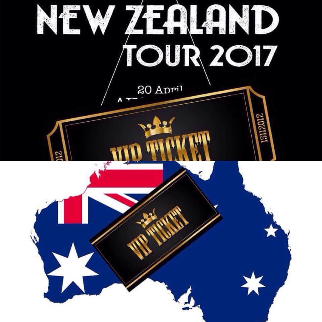 Vip Ticket Upgrades Meet N Greet Sound Check And More For Nz And