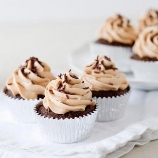 Chocolate Peanut Butter Cupcake « Go Bold with Butter