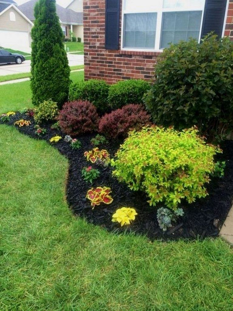 21 Beautiful Simple Front Yard Landscaping Design In Residential